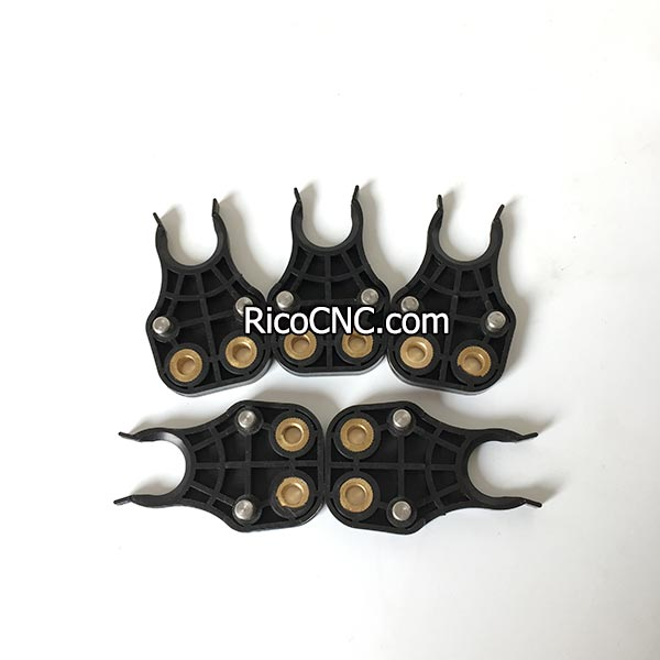 Black ISO10 Tool Holder Grippers ATC Tool Changer Clips for ISO10 Collet Chuck