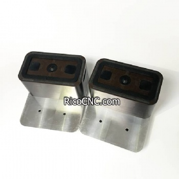 132x75x74mm Half Size Brown Vacuum Block for Biesse Rover CNC