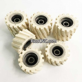 Rubber Pressure Roller Wheels for Edgebanders Edge Banding Machine