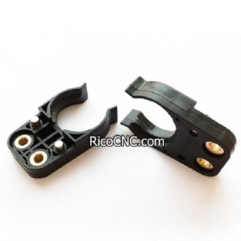 Black BT30 Tool Holder Clips Plastic Tool Change Fingers for CNC