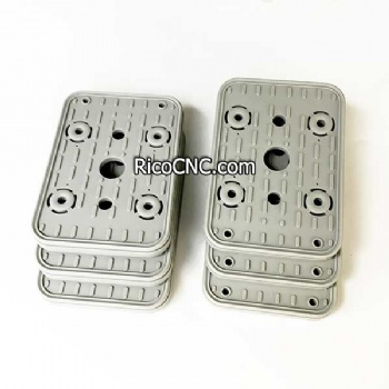 10.01.12.00251 Top Suction Plate VCSP-O 160x115x16.5 Upper Rubber Cover