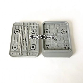 10.01.12.00922 VCSP-U 160x115x16.5 Bottom Rubber Suction Plate