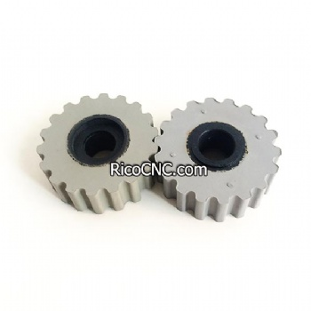 2-250-19-4040 70x18x25mm Pressure Roller Wheels with Countersink for Brandt Edgebanders