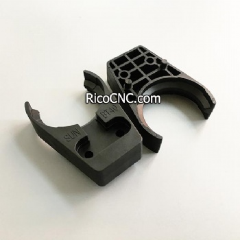 Long SUN BT40 Tool Holder Clamp Forks Plastic Tool Grippers for CNC Processing Center